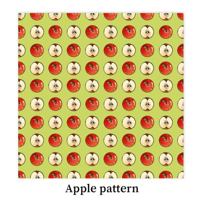 Apple-pattern-DewyCreations2 by Dewy Venerius.