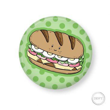 Button-broodje-gezond by Dewy Venerius.