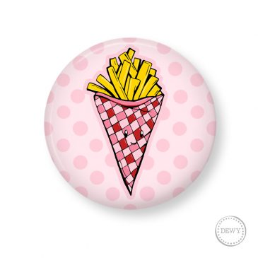Button-frietjes by Dewy Venerius.
