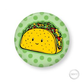 Button-taco by Dewy Venerius.