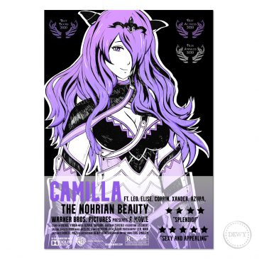 Camilla-Fire-Emblem-fanart-Film-poster-DewyCreations