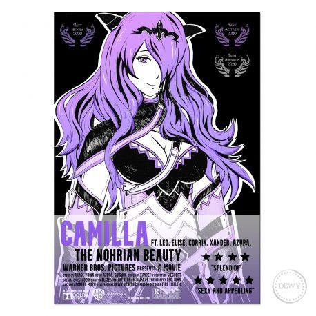 Camilla-Fire-Emblem-fanart-Film-poster-DewyCreations