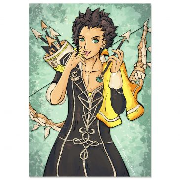 Claude-Fire-Emblem-fanart-DewyCreations-Fullcolour by .