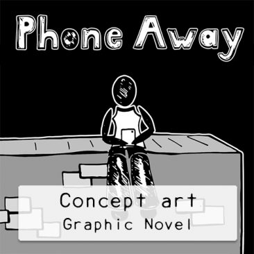 Concept-art-Graphic-Novel-DewyCreations by .