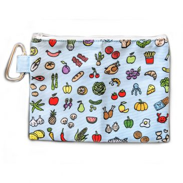 Cute-food-illustrations-pencil-case-DewyCreations by .