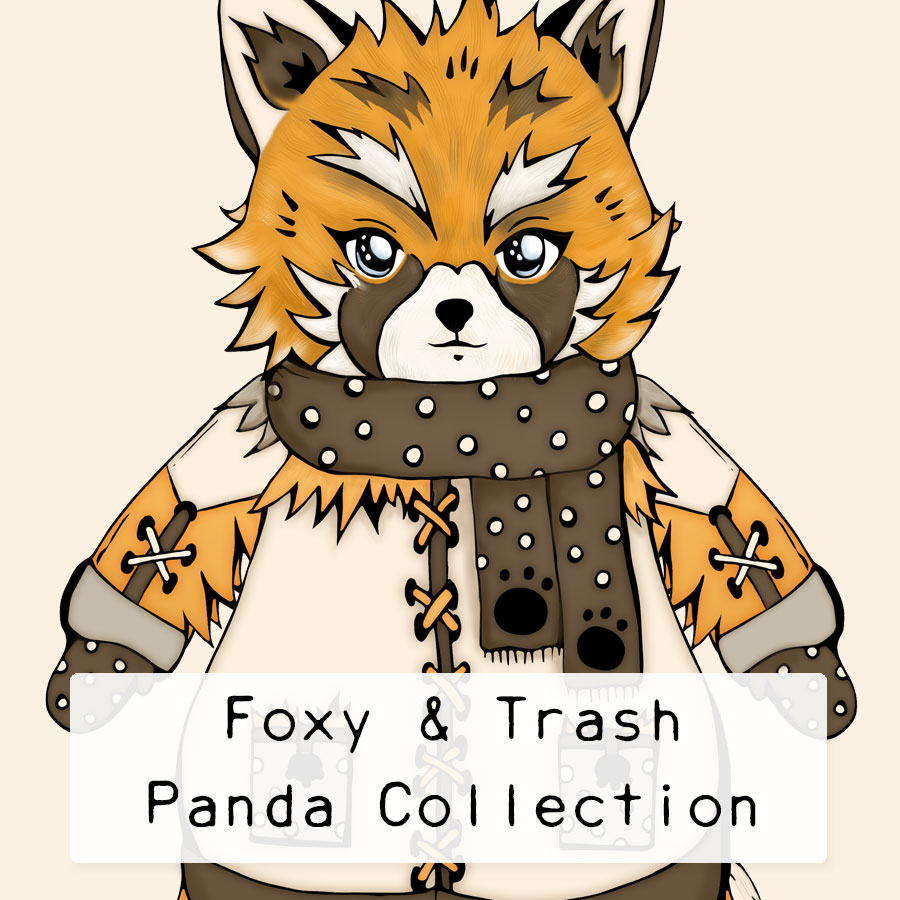 Foxy-Trash-Panda-Collection by .