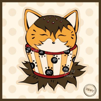 Foxy Cupcake
