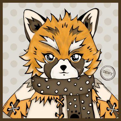 Foxy & Trash Panda