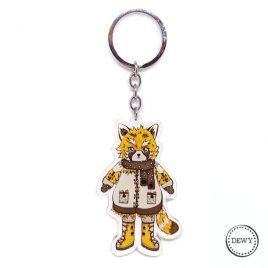 Foxy sleutelhanger by .