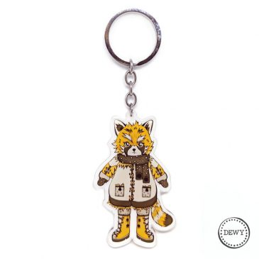 Foxy sleutelhanger by .