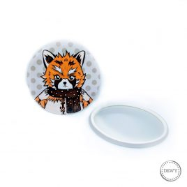 Foxy-spiegeltje4 by Dewy Venerius.