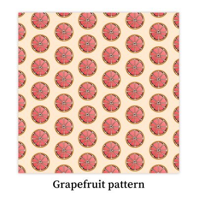 Grapefruit-pattern-DewyCreations by Dewy Venerius.