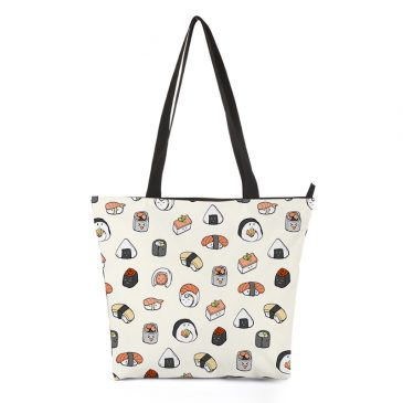 Handbag-Sushi-pattern-DewyCreations by 王春龙.