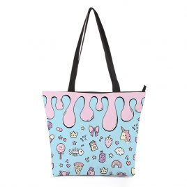 Handbag-kawaii-pastel-pattern-DewyCreations by 王春龙.
