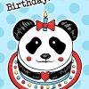 Happy-birthday-Panda-cardB by Dewy Venerius.