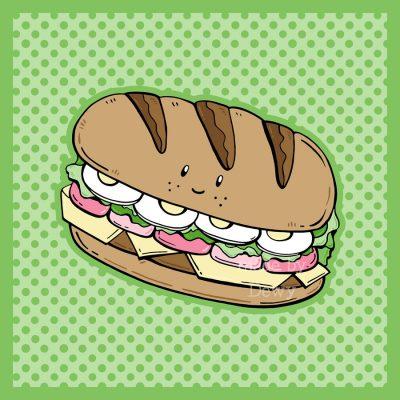 Healthy sandwich