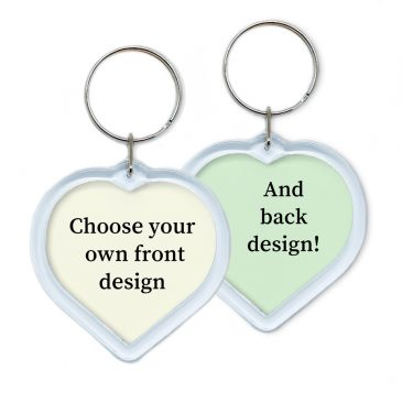 Heart-shape-keychain-DewyCreations by .