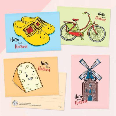 Hello Holland kaartenset