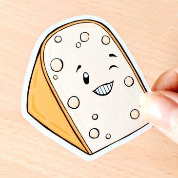 Hello-Holland-kaas-cheese-sticker-Dewy-Venerius-3 by .