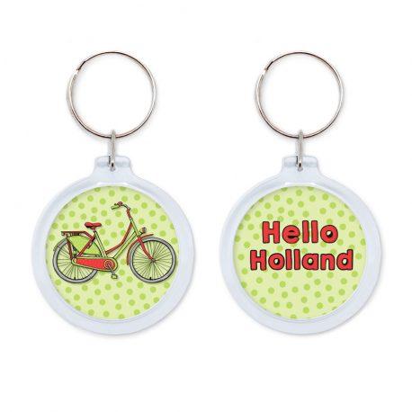 Hello Holland fiets sleutelhanger