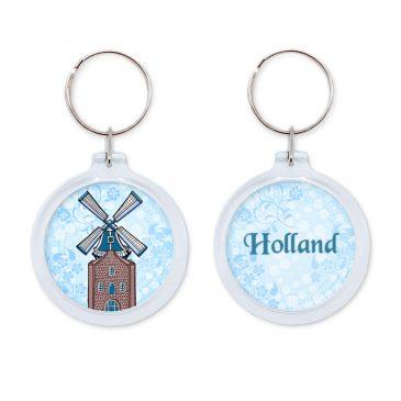 Holland-sleutelhanger-molen-nederland