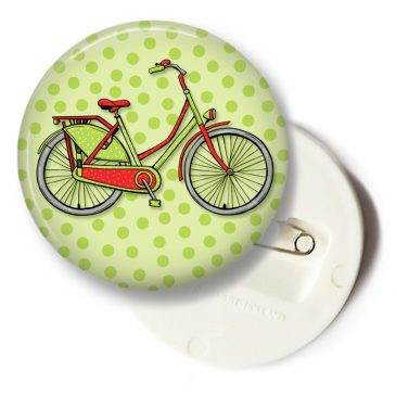 Hollandse-fiets-button by .