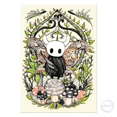 Hollow-Knight-Artwork-DewyCreations by Dewy Venerius.