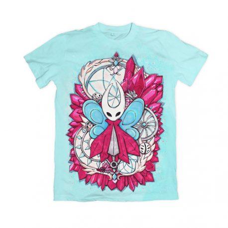 Hollow-Knight-Hornet-t-shirt-DewyCreations by Max Fatfullin.
