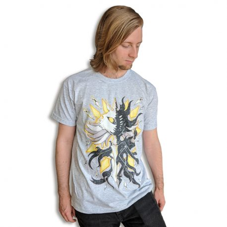 Hollow-Knight-Radiance-Void-T-shirt-photo by .