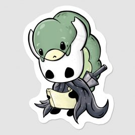 Hollow Knight & grub sticker