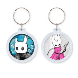 Hollow Knight keychain by .