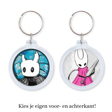 Hollow-Knight-keychain-NL by .