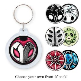 Hollow-Knight-keychain-charms by .