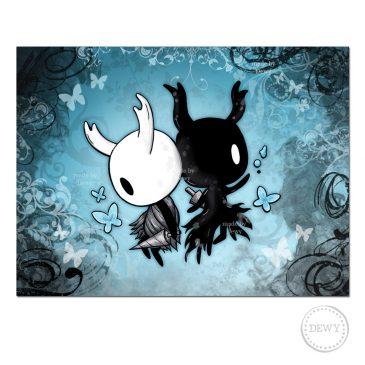 Hollow Knight lifeblood fanart print