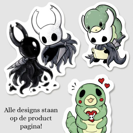 Hollow-Knight-stickers-DewyCreationsNL by .