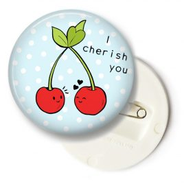 I-cherish-you-cherry-button-big by .
