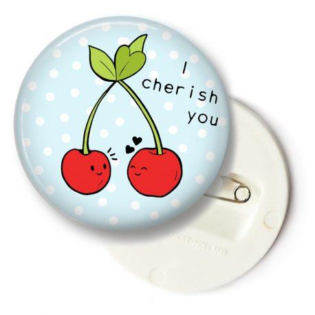 I-cherish-you-cherry-button-big by .
