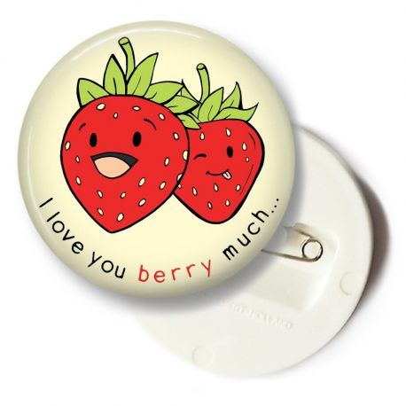 I-love-you-berry-much-button-groot by .