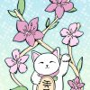 Illustration-lucky-cat by .