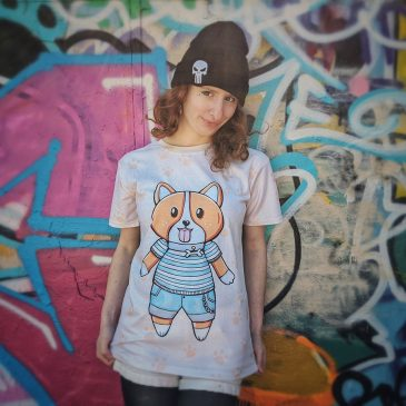 Kawaii-Corgi-dog-t-shirt-DewyCreations by .