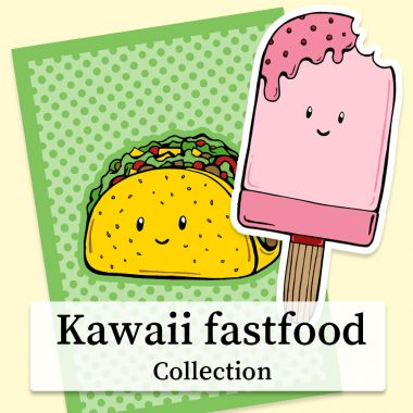 Kawaii-Fastfood-collection-DewyCreations2 by .