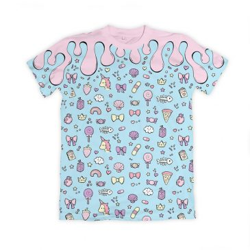 Kawaii-Pastel-T-Shirt-DewyCreations-webshop by Max Fatfullin.
