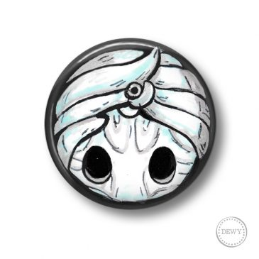 Kingsoul-charm-Hollow-Knight-button by Dewy Venerius.