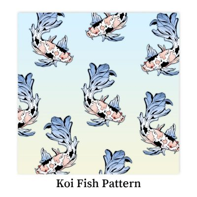 Koi-fish-pattern-DewyCreations by Dewy Venerius.