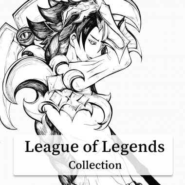 League-of-Legends-fanart-collection by .