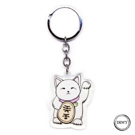 Lucky cat sleutelhanger by .
