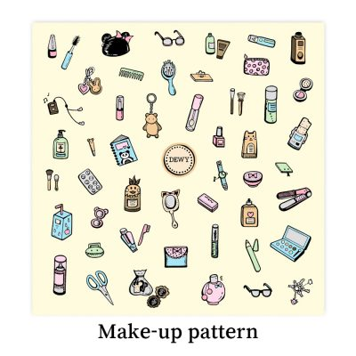 Make-up-pattern-DewyCreations by Dewy Venerius.