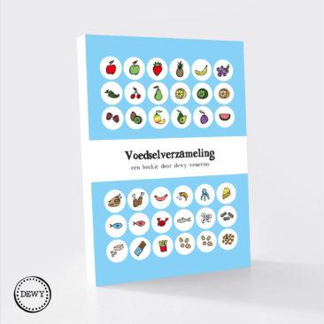 Concept boekje voedselverzameling by Dewy Venerius.