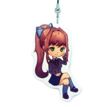 Monica-doki-doki-literature-club-charm by .