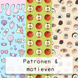 Patronen-motieven-DewyCreations2 by .